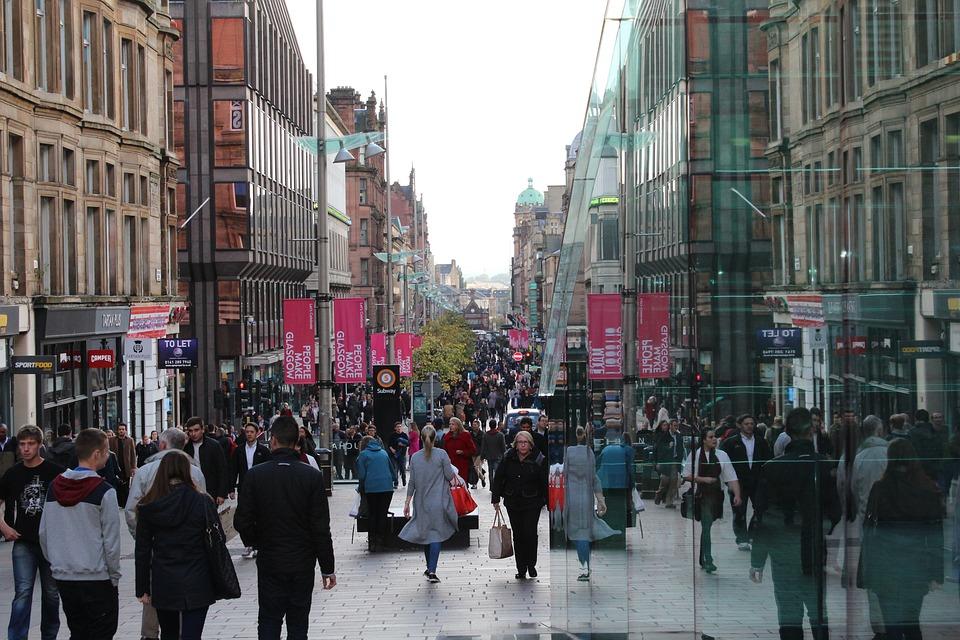 Einkaufen in und um Glasgow